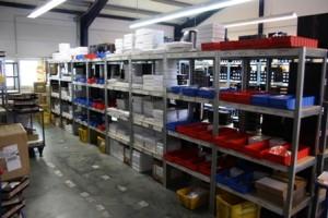 MPR Fulfillment - Lager mit Kleinteilen
